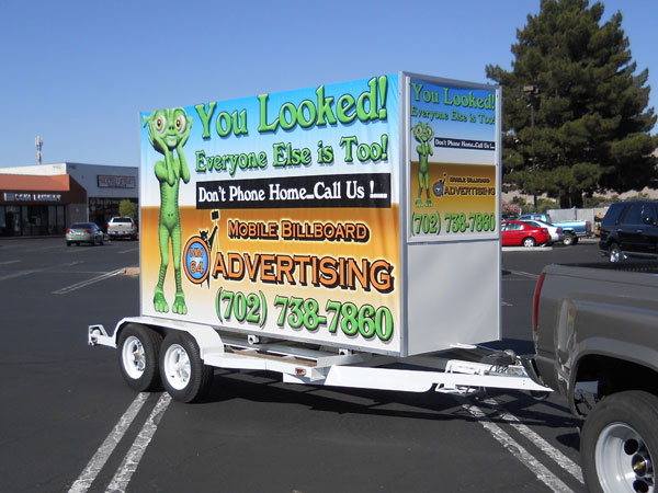 Las Vegas mobile advertising and outdoor media
